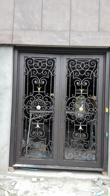 Wrought Iron Steel Doors Wrought Iron Door Hardware In Doors From Home Improvement On Aliexpress