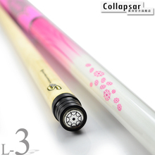 Купить с кэшбэком New Collapsar 2018  Billiard Pool Cue L03 Pink Ladies Cue 58Inch 2PC Maple Stick Radial Pin 19oz 20oz Free ship