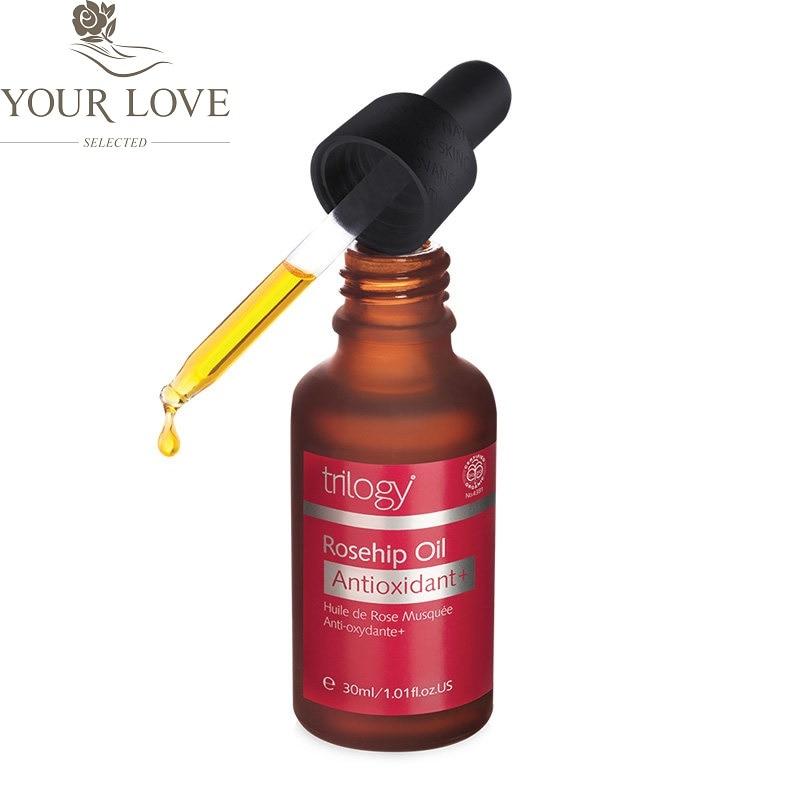 NewZealand Trilogy Organic Rosehip Oil Antioxidant for Scars Fine lines Wrinkles Stretch marks Improve skin elasticity