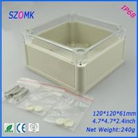 10 개 많은 고품질 ABS 플라스틱 접합 상자 IP68 방수 수준의 abs 전기 캐비닛 120*120*61 미리메터