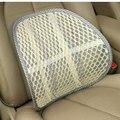 Leather nail factory direct car summer ice silk lumbar massage back cushion back cushion lumbar cushion vehicle wholesale