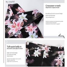 Tracksuit For Women 2 Piece Yoga Set Floral Print Women Bra+Long Pants Sportsuit
