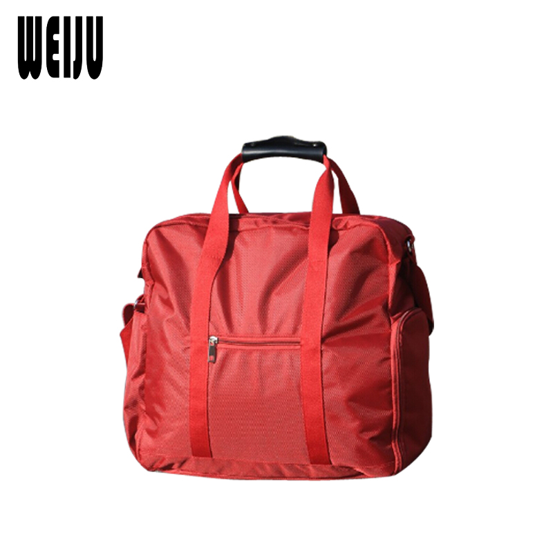 WEIJU Women Travel Bag Large Capacity Shoulder Bags Men Travel Bags Casual Oxford Duffle Bag Traveling Mens Handbags Valise