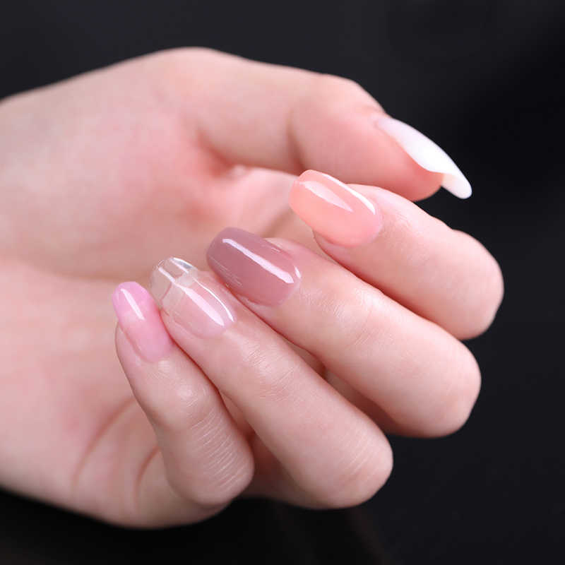 UR SUIKER Wit Roze Clear Crystal Builder UV Gel 7.5ml Quick Extension Gel 6 Kleur Nail Acryl Gel Polish