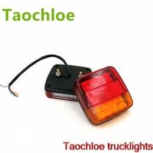 1 пара 12 V 20leds прицеп стоп для грузовика автобуса тормоза задние фары задний свет, обратный загорится индикатор внешний свет