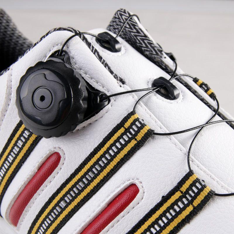 PGM patent new golf shoes mens waterproof Non-slip outdoor golf sneakers with automatic rotation shoelace device 2color