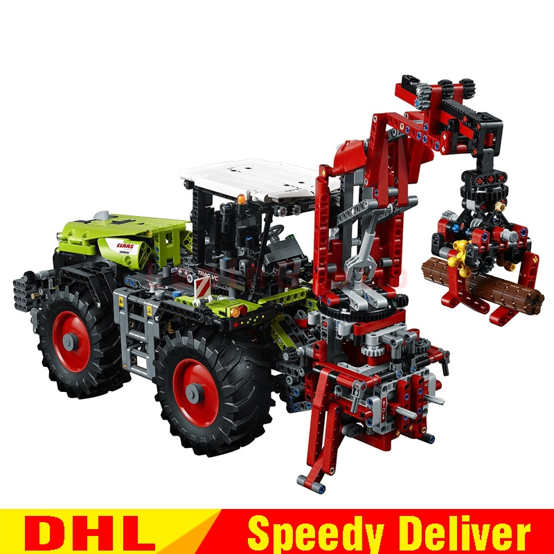 LEPIN 20009 1977Pcs Technic Technic Claas Xerion 5000 Trac Vc Model Building figures Blocks Brick legoings Toys Gift Clone 42054
