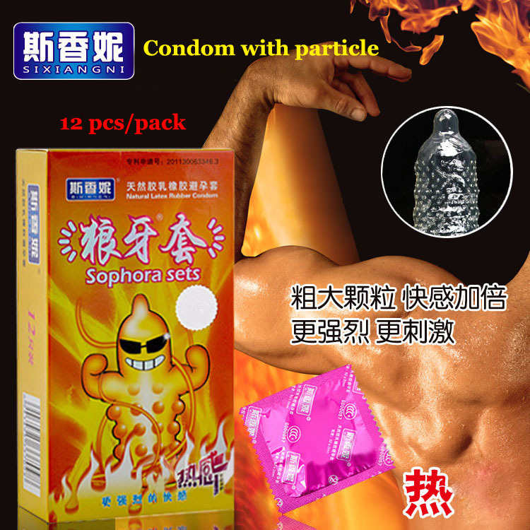 (12pcs) Hot SEx products hotness style silicon spike cONDOm penis sleeve funny cONDOms for men original camisinha sex toys