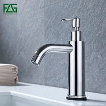 FLG Sensor Basin Faucet Stainless Steel Smart Touch Sensitive Bathroom Faucets Control Tap With Soap Dispenser