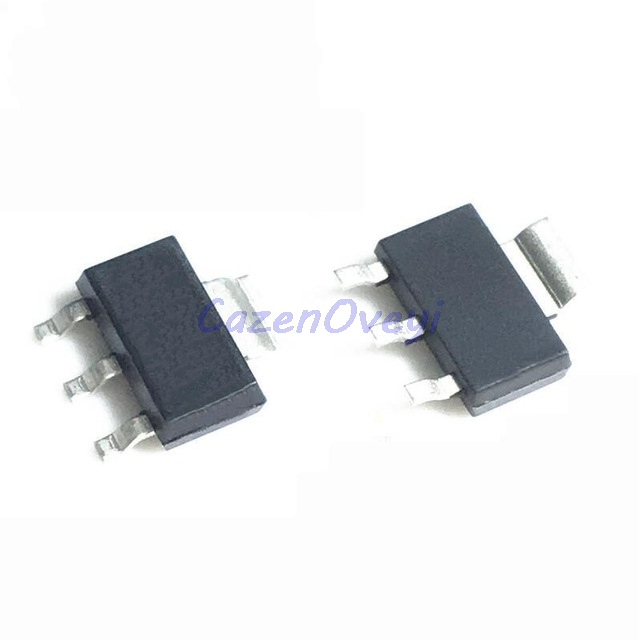 100pcs/lot LM317AEMPX SOT-223 N07A LM317 <font><b>LM317AEMP</b></font> LM317A SOT transistor SOT223 In Stock image
