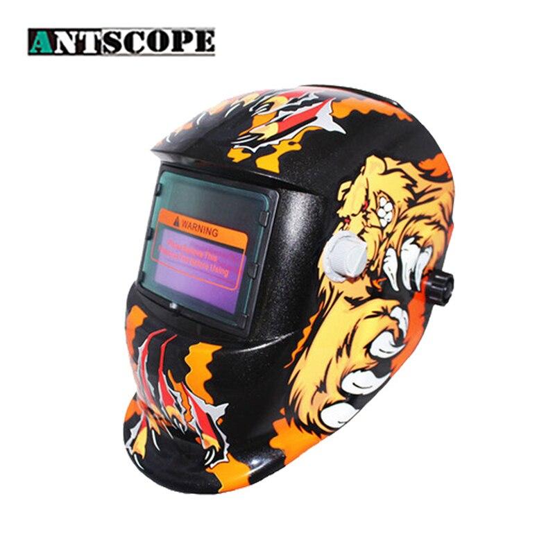 Auto Darkening Welding Helmet Solar Welder Cap Electric Welding Mask with Protective Lens for Mig MMA Weld Machine Hard Helmet цена
