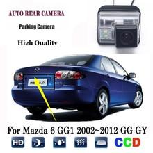 Камера заднего вида для Mazda 6 GG1 2002~ 2012 GG GY wagon CCD камера ночного видения, камера заднего вида, камера заднего вида