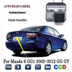 Kamera tylna do mazdy 6 GG1 2002 ~ 2012 GG GY wagon CCD Night Vision kamera cofania tablica rejestracyjna kamera cofania w Kamery pojazdowe od Samochody i motocykle na
