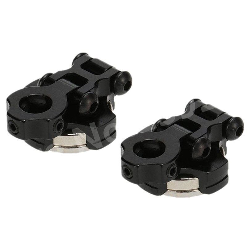 Black  Car Shell Magnet Stealth Body Post Shell Columns for Axial SCX10