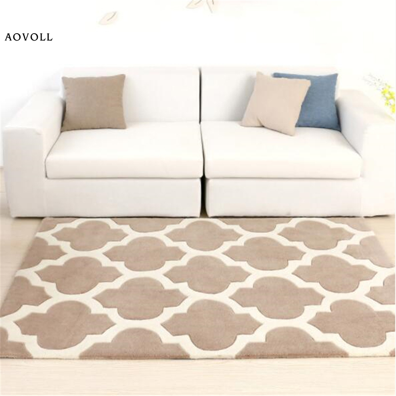 AOVOLL Acrylic Thicker Nordic Style Carpets For Living Room Bedroom Kid Room Rugs Home Carpet Flood Door Mat Soft Large Area RugAOVOLL Acrylic Thicker Nordic Style Carpets For Living Room Bedroom Kid Room Rugs Home Carpet Flood Door Mat Soft Large Area Rug