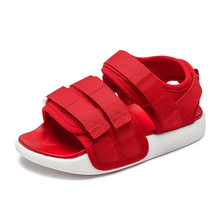 Buy Summer Kids Sandals Sports Girls Sandals Baby Boy Barefoot Shoes Comfortable Casual Fashion Hook Loop Beach Shoe For Toddler directly from merchant!