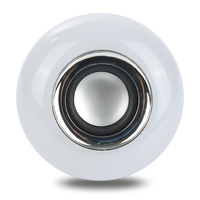 Oobest LED RGB Bluetooth Speaker Lighting Bulb Wireless 12W Power Music Playing Light Lamp High Quality
