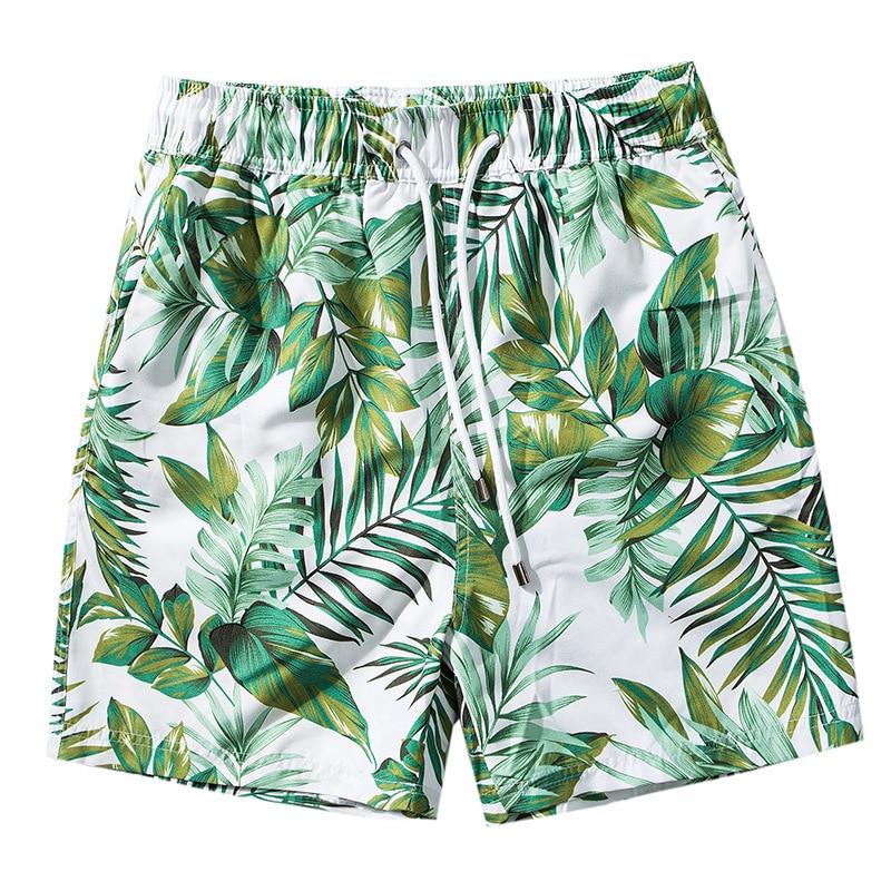 Swim Briefs Boxer-Shorts Trunks Bathing-Suit Surf Breathable Summer Men Quick-Dry