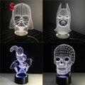 Regalo Del Niño creativo Nightlight de La Lámpara 3D Lampada Como Decoración Para El Hogar Dormitorio Luz de Lectura USB lámpara de Escritorio LED de Navidad L & S SLED16-015