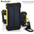 Original bluleki banco de alimentación externa powerbank batería de reserva portable de carga dual usb banco de la energía solar para móviles iphone
