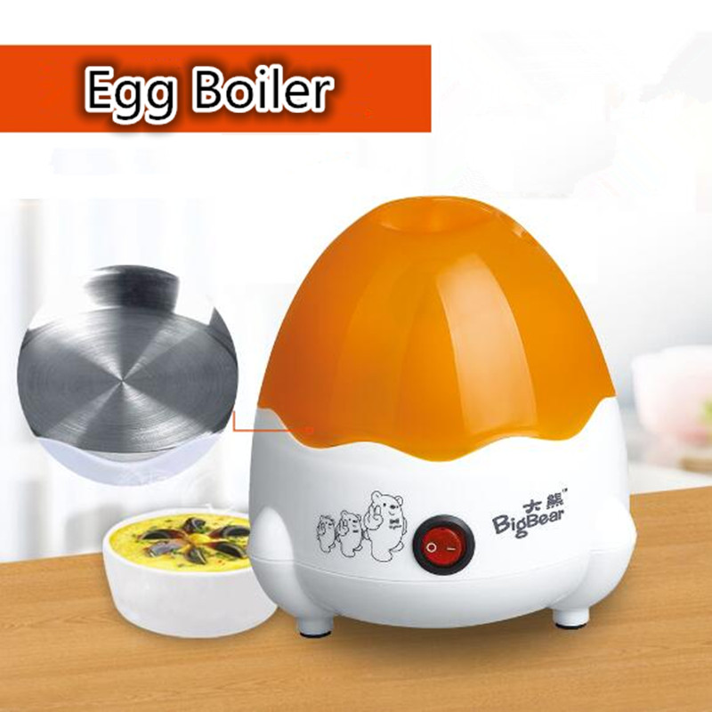 220V/350W High Quality Multifunction Mini Electric Egg Boiler 4pcs Electric Egg Cooker Steamer Kitchen Tool multi function stainless steel electric egg cooker boiler steamer 14 eggs egg cooker steamer shipping faster