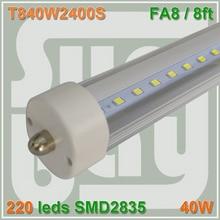 10pcs lot Free Shiping font b LED b font font b TUBE b font 2400MM 8ft