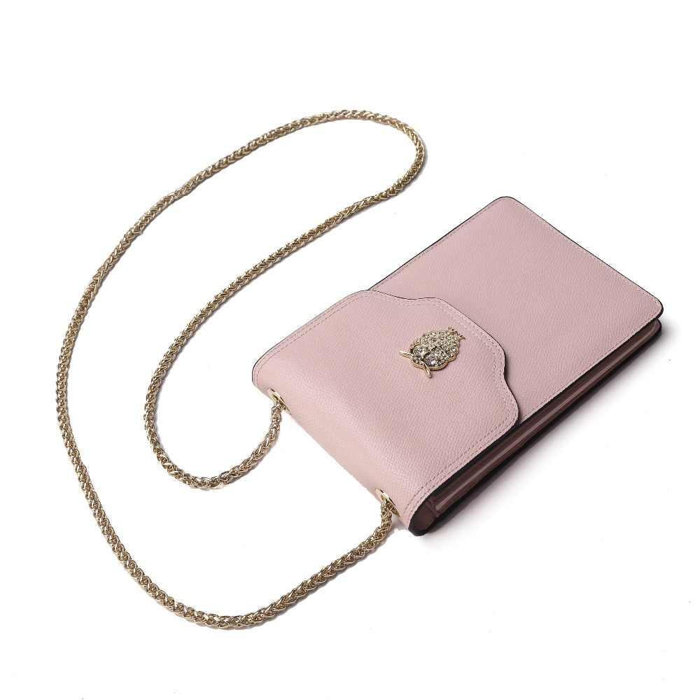 BISON DENIM Bags For Women 2018 Owl Accessory Fashion Women Shoulder Bags Crossbody Bags For Women Mini Messenger Bag N9332
