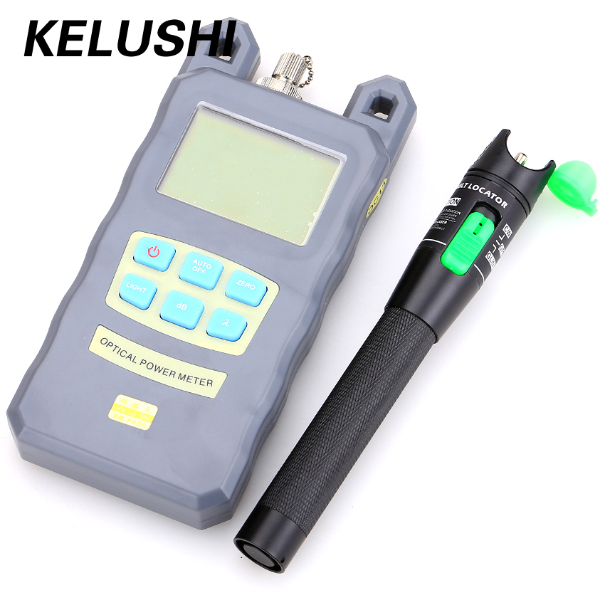 Medidor de energia de fibra óptica portátil -70dBm ~ + 10dBm de - Equipamento de comunicação - Foto 1