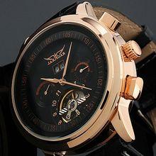 2017 JARAGAR Luxury Watch Men Tourbillon Automatic Wrist Mechanical Watches Free Shipping Gift