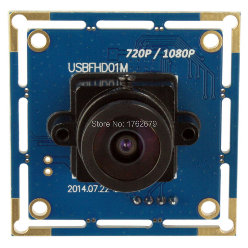 цена на 1080P full hd usb Camera Module 2.1mm lens wide angle 2MP 1080p CMOS OV2710 USB video camera