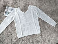 V neck vintage open knit hollow out Sweaters