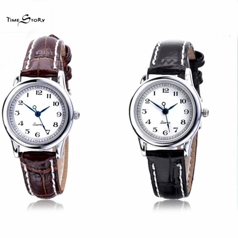 ФОТО fashion watch Brand Classic Watch Japan Quartz Analog Watches Women Anti-clock Wristwatch Leather Strap Waterproof women watches