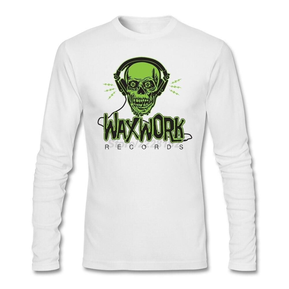 Rock Band T Shirt Designs Modern Vinyl Waxwork Records Logo T Shirts