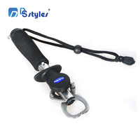 DSstyles Carp Fishing Accessories Pesca Weigh Stainless Steel Lip Grip Fish Holder Gripper With Weight Scale