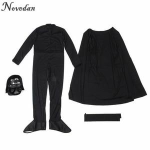 Image 5 - Halloween Kostuum Voor Kinderen Mannen Darth Vader (Anakin Skywalker) Kinderen Cosplay Party Kostuum Kleding Met Helm Masker
