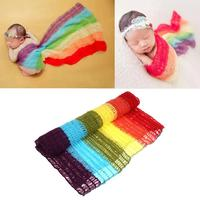 Stretch Knit Wraps Newborn Photography Props Baby  ...