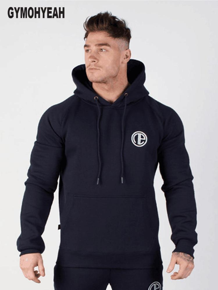 GYMOHYEAH 2018 Stilvolle Kapuzenpulli Neue Ankunft Männer Hoodies - Herrenbekleidung