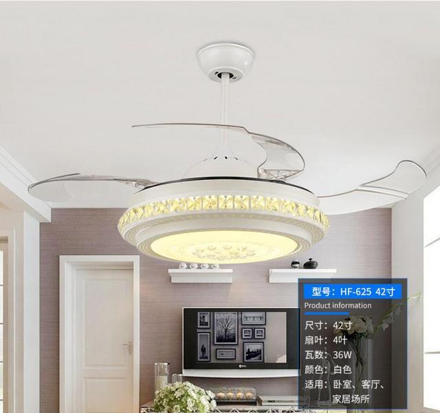 LED Plafond Ventilator Met Verlichting Afstandsbediening 110 240Volt ...