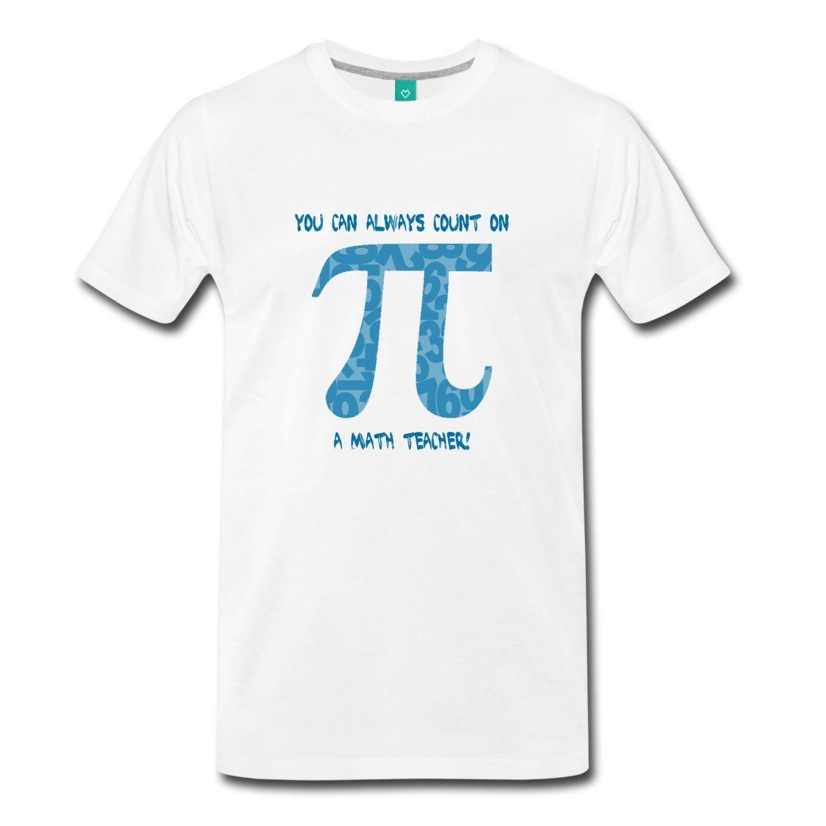 Pi Day Math Teacher Mens T-Shirt Round Neck Best Selling Male Natural Cotton Shirt Cotton Shirts Cheap Wholesale O Neck Tshirt