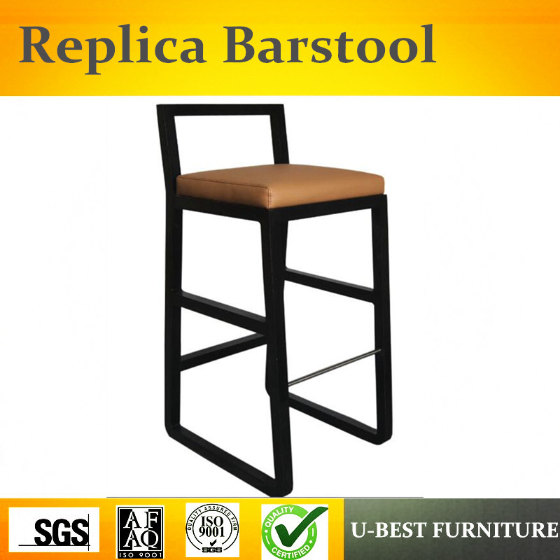 U-BEST Top Quality European Wood Stool Chair, American Bar Chairs Round Chair, Bar Chair Home Bar Stool