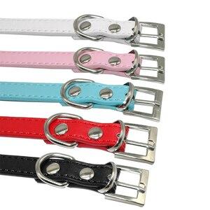 Image 4 - Collares para perro cachorro con diamantes de imitación ostentosos, Collar personalizado para perros pequeños y Chihuahua, dijes con nombre gratis, accesorios para mascotas