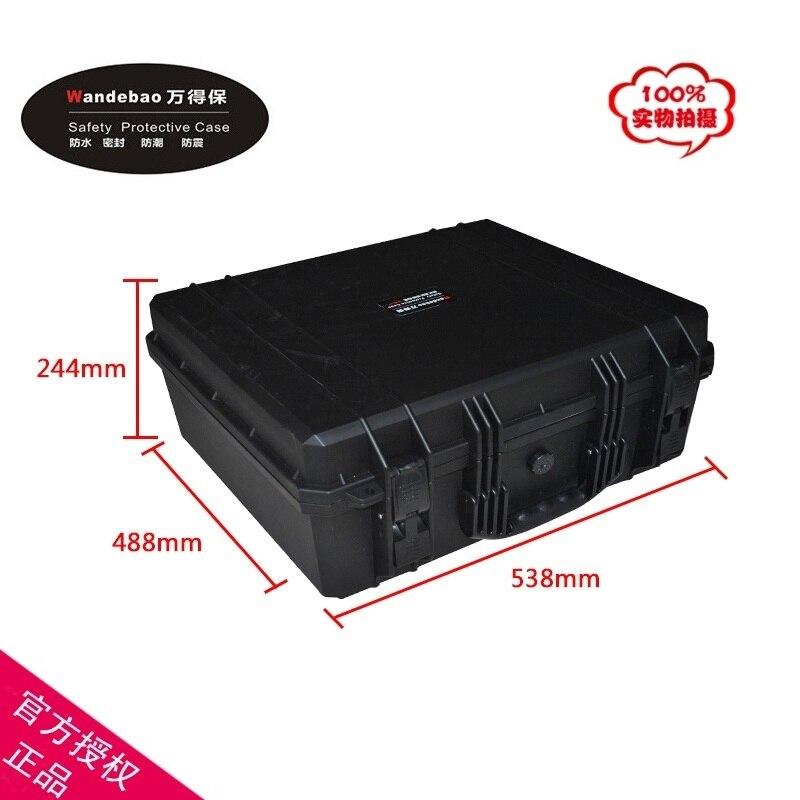 Случае Инструмент Toolbox чемодан ударопрочный герметичный водонепроницаемый защитный чехол 509*420*223 мм оборудования поле чехол для камеры с пе...