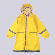 80-145cm Raincoat For Children Kids Rain Poncho Coat Child Sets Chubasqueros capa de chuva Student Backpack raincoat