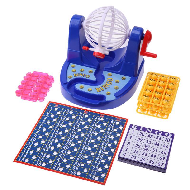 Моделирование лотереи Лаки шары Бинго игровой автомат Развивающие игрушки для детей Дети забавная игрушка Семья настольные игры
