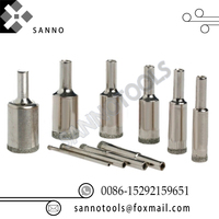 Diamond Brazed Core Bit with Screw Connection diameter 8mm 10mm 12mm 14mm 16mm Coated Hole Saw Tile Ceramic Glass Marble