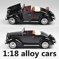 1:18 alloy cars,high simulation model Ford convertible  car,metal diecasts,coasting,the children's toy vehicles,free shipping