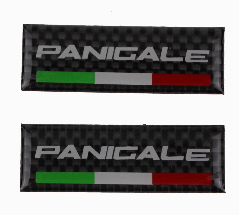 Kodaskin мотоциклетные реальные углеродного Италия Руль управления для мотоциклов зажим Танк стикер эмблема наклейка для Ducati 959 899 1199 1299 panigale 60 ...