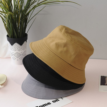 Outdoor Bucket Hat Shading Cap Beach Harajuku All-match Leisure Unisex Summer Foldable Women Fisherman