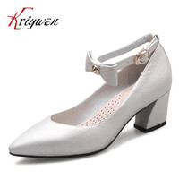 Cow Leather Women Green High Heel Shoes Pointed Toe Butterfly Knot Lady Fashion Pumps Sweet Bridal