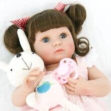 35 cm muñeca bebes reborn corpo a corpo de silicona inteiro realista renacer niña princesa l o regalo de sorpresas de muñeca l